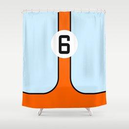 Gulf Le Mans Tribute design Shower Curtain