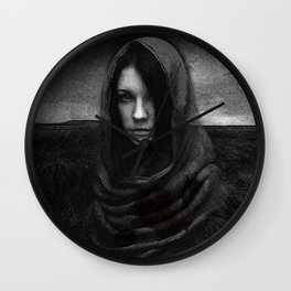 manto insanguinato Wall Clock