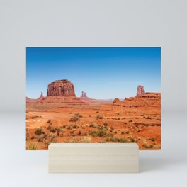 John Ford Point Panorama at Monument Valley Mini Art Print