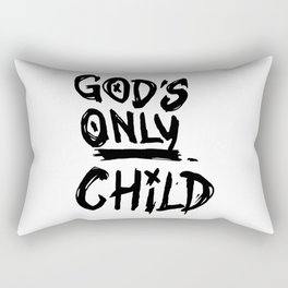 Gods Only Child Rectangular Pillow