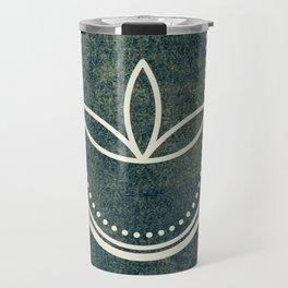 Ultra Sacred Geometry Dark Travel Mug