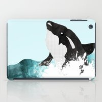 killer whale iPad Cases featuring The Killer Whale  by Jasmine Smith