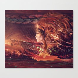 Shadow of a Thousand Lives - Visionary - Manafold Art Canvas Print