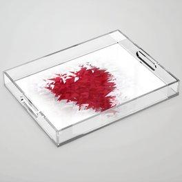Heart Acrylic Tray
