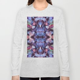 psychedelic flower ii Long Sleeve T-shirt