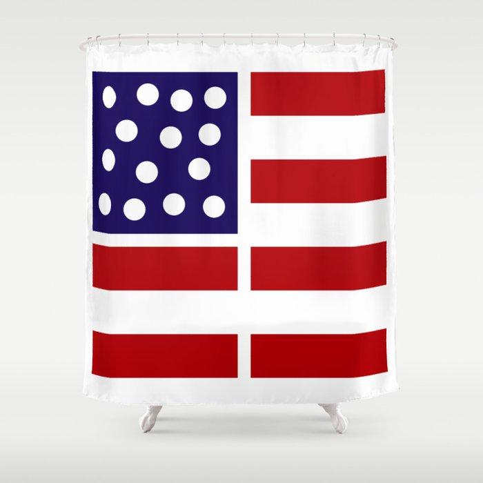 American design! USA flag #society6 #decor #buyart #artprint Shower Curtain