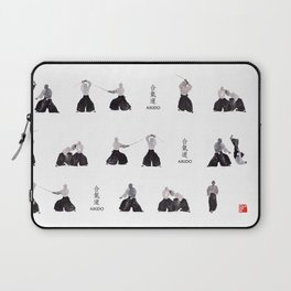 Aikido by yoonhyehe Laptop Sleeve
