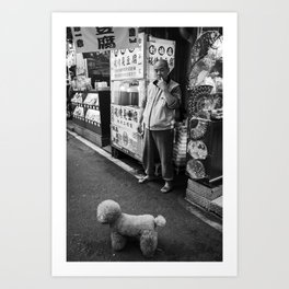 For The Love of Dogs Art Print