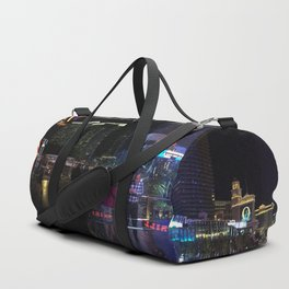 Las Vegas night life Duffle Bag