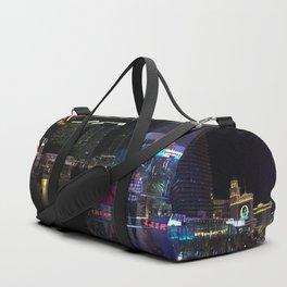 Las Vegas night life Duffle Bag