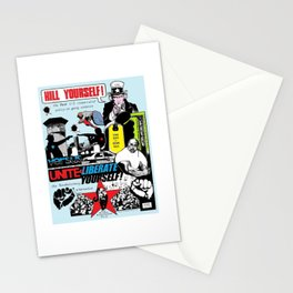Kill Yourself vs Liberate Yourself color Stationery Cards