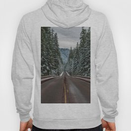 Winter Road Trip - Pacific Northwest Nature Photography Hoody