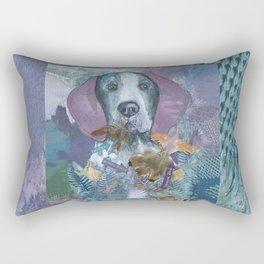 The Pointless Pointer Rectangular Pillow