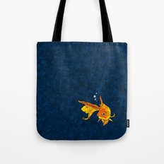 A fish! A fish! A fishy... OH!! Tote Bag