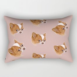 Angry Chihuahua Rectangular Pillow
