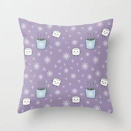 Winter Treat Throw Pillow