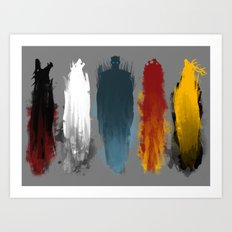 War is here Art Print