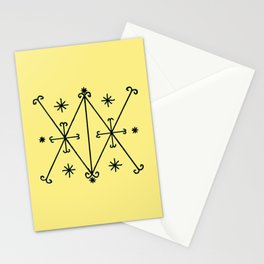 Voodoo Symbol Ayzian Stationery Cards