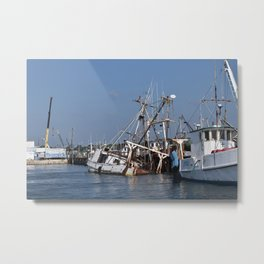 Assateague Adventure Tour Series - 3 Metal Print