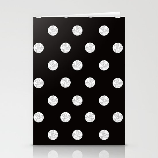 Polka like you mean it Stationery Cards