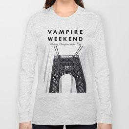 Vampire Weekend / George Washington Bridge Long Sleeve T-shirt