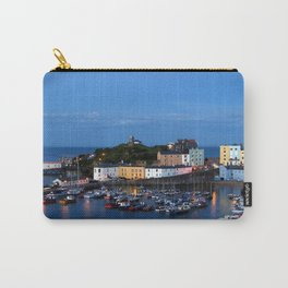 TENBY HARBOUR. PEMBROKESHIRE.WALES. Carry-All Pouch