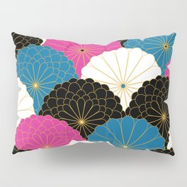 Japanese Chrysanthemum 2 Pillow Sham