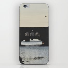 silhouettes. iPhone Skin