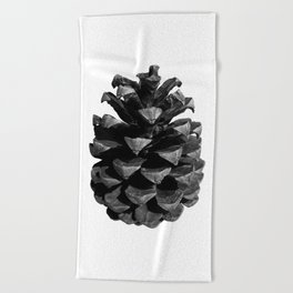 Pinecone Beach Towel