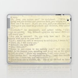 Jane Eyre, Mr. Rochester Proposal by Charlotte Bronte Laptop & iPad Skin