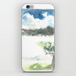Sky and Tree - 4 Vignettes iPhone Skin