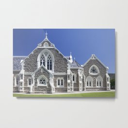 Dutch reformed church in Graaff-Reinet, South Africa Metal Print