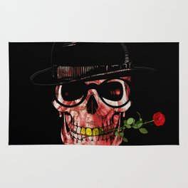 Gypsy skull Rug
