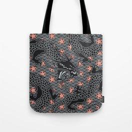 Hidden Dragon / Oriental dragon design Tote Bag