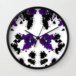Rorsc 5 Wall Clock
