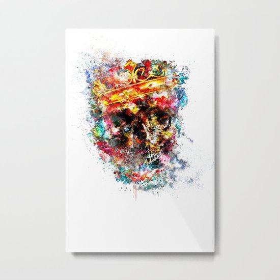 King Dusty Metal Print