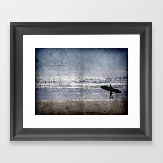 Vintage Summer Framed Art Print