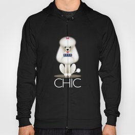 Chic Poodle Hoody