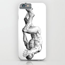 Falling From Heaven NOODDOODs iPhone Case