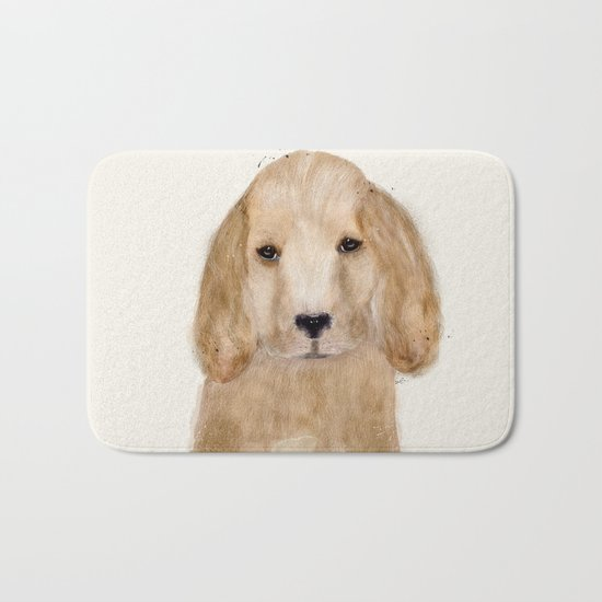 little spaniel Bath Mat