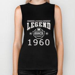 Living Legend Since 1960 T-Shirt Biker Tank