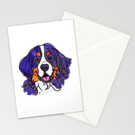 the Bernese Mountain Dog love of my life! Stationery Cards