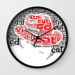Linux Command Wall Clock