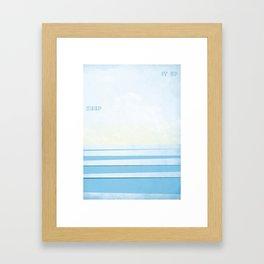 Keep It Up Framed Art Print