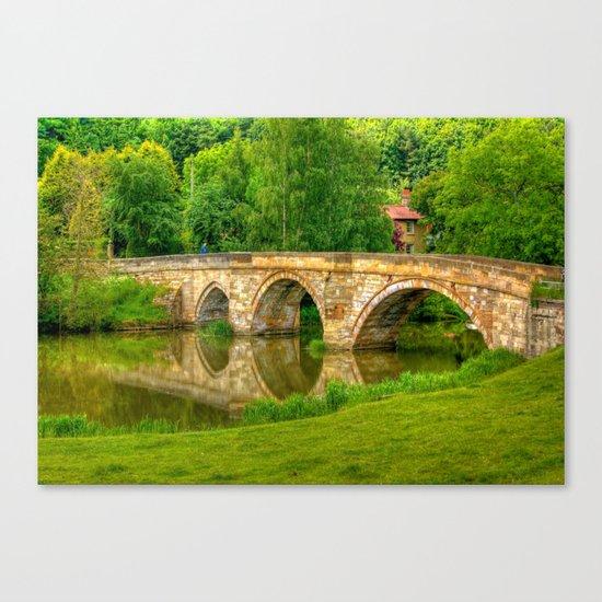 Kirkham Bridge - River Derwent  Canvas Print