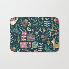 Christmas Joy Bath Mat