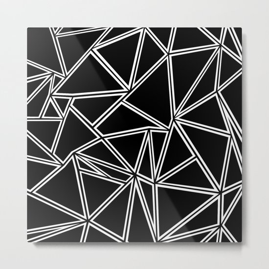 Shattered Ab Zoom Metal Print