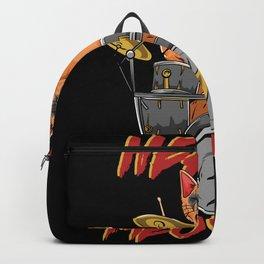 Heavy Meowtal - Heavy Metal Cat Backpack