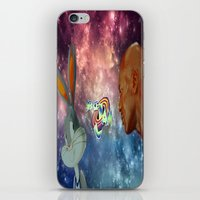 space jam iPhone & iPod Skins featuring Space Jam by Emil Engström