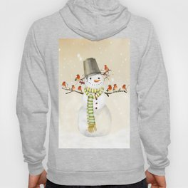 Snowman and Birds Hoody